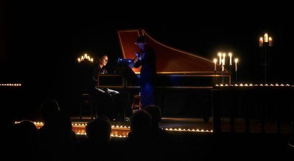 Tête-à-tête aux chandelles avec Bach
